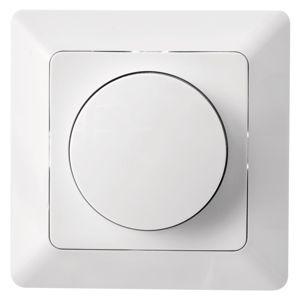 spínací zásuvka Stmívač osvětlení Led 230V č. 6 Emos, bílý