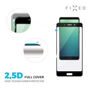 tvrzené sklo pro mobilní telefon Ochranné tvrzené sklo Fixed Full-cover pro Honor 8S, černé Fixgfa-422-bk