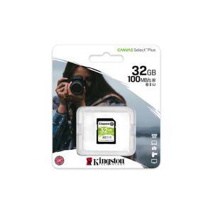 Kingston paměťová karta Canvas Select Plus Sdhc 32Gb Class 10 Uhs-i