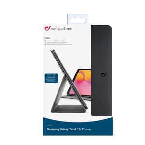 Cellularline pouzdro na tablet Folio Foliogtaba1019k - black