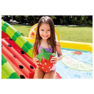 Hrací centrum Intex 57158 Fruity Play Center 244x190x92 cm