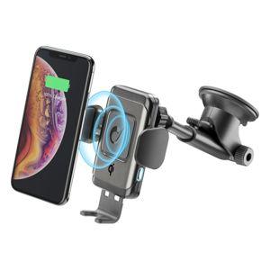 Cellularline držák na mobil Univerzální držák Pilot Instant Wireless s funkcí bezdrátového nabíjení, černý (PILOTINSTWIRK)