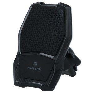 držák na mobil Swisstenmagnetický držák do ventilace auta s bezdrátovým nabíjením Wm1-av3, 65010603