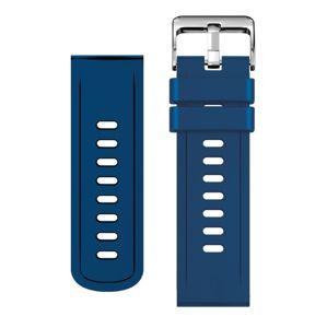 Aligator řemínek silikonový 22mm, modrý 22Aw0004