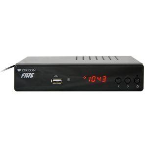 dvb-t přijímač Set top box Zircon Fire Hevc H265 (DVB-T2 přijímač)