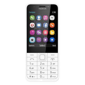 Nokia mobilní telefon 230 Ss White/silver