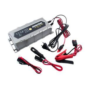 Automatická nabíječka Avacom 12V 7A pro olověné Agm/gel akumulátory (14 - 150Ah) - Avacom Napb-a070-012
