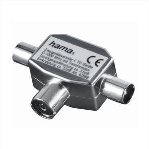 Hama koaxiální kabel 122469 Rozbočovač-tv,koax.zásuv.
