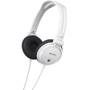 Sony sluch.MDR-V150W, bílá