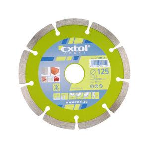 Extol Craft 108814 kotouč diamantový řezný segmentový - suché řezání, 180x22,2mm